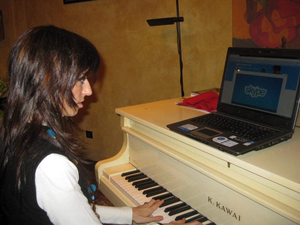 lezioni di canto online SKYPE