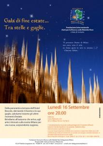 invito musica per eventi Milano fondazione malattie rare