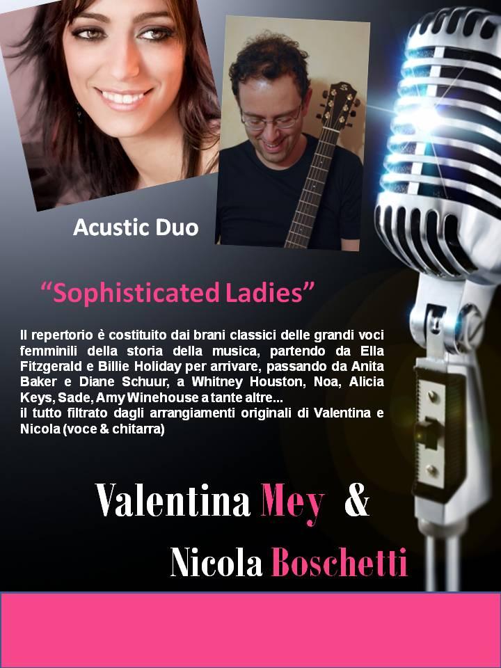 Musica dal vivo Novara - valentina mey e Nicola Boschetti