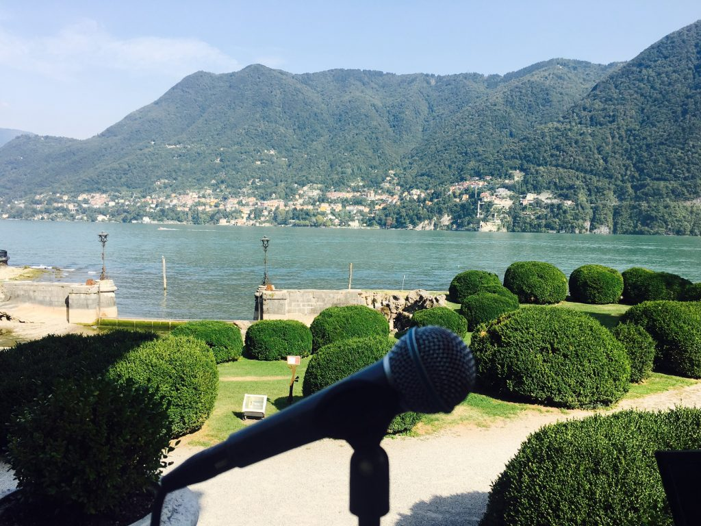 Wedding Music Lake Como: as in fairy tales SINGER COMO WEDDING